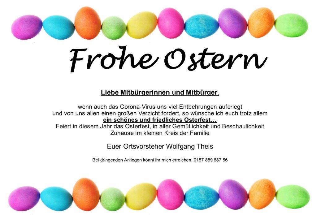 Ostergruß 2020